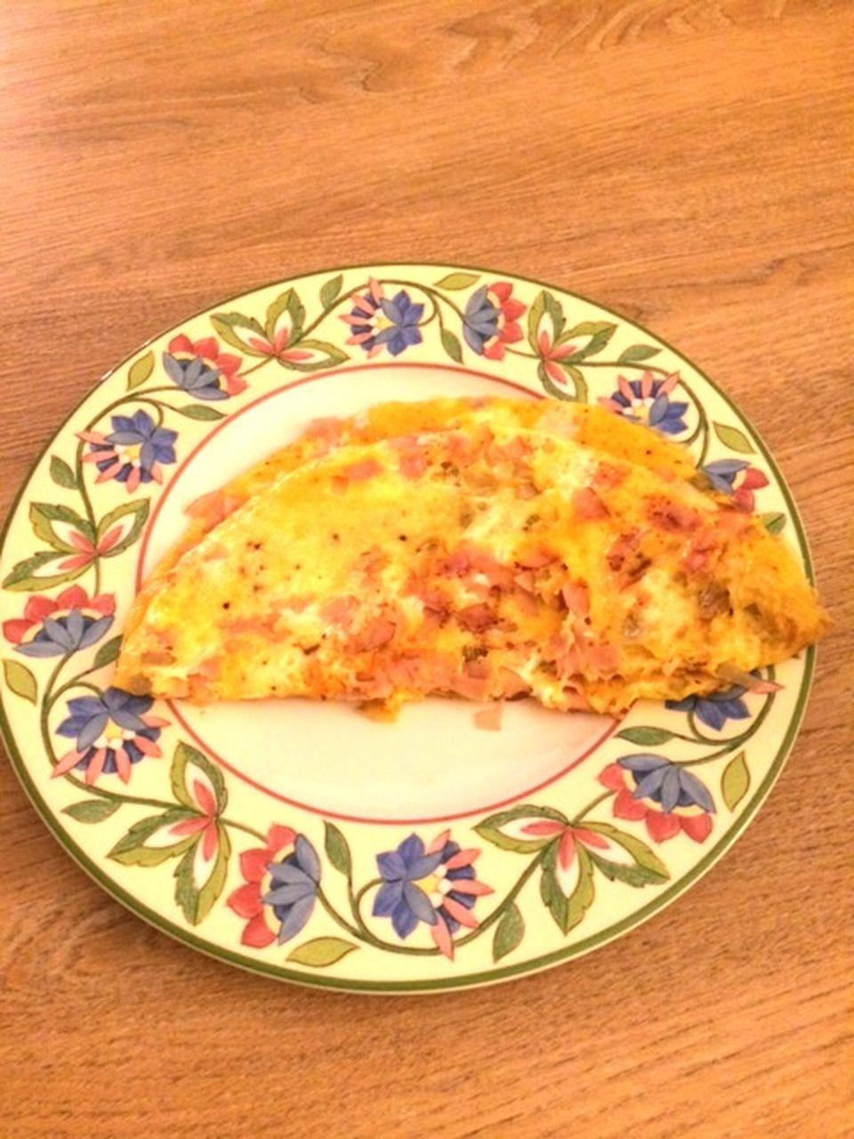 Omelette mit Putenschinken und Käse (1 Portion)